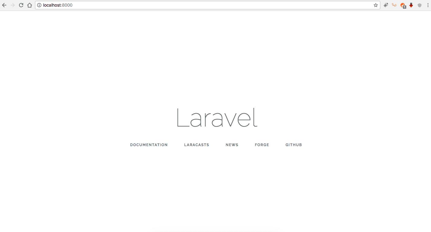 Install Framework Laravel