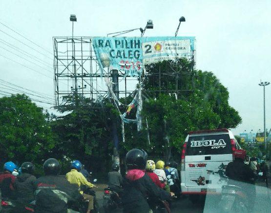 Baliho Caleg Yang Masih Populer di Pemilu 2019