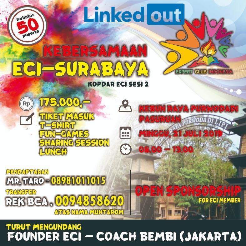 Event Kebersamaan Expert Club Indonesia (ECI) - Surabaya
