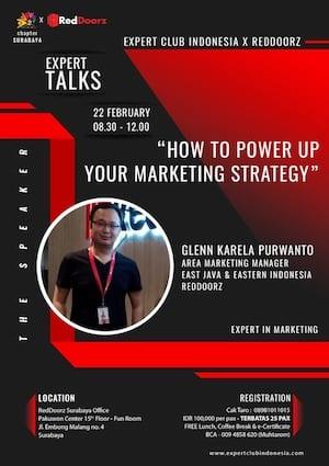 Belajar Marketing Dari Pak Glenn Karela Purwanto