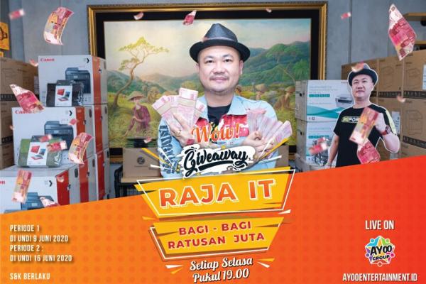 Basuki Surodjo Sebagai Raja IT Indonesia
