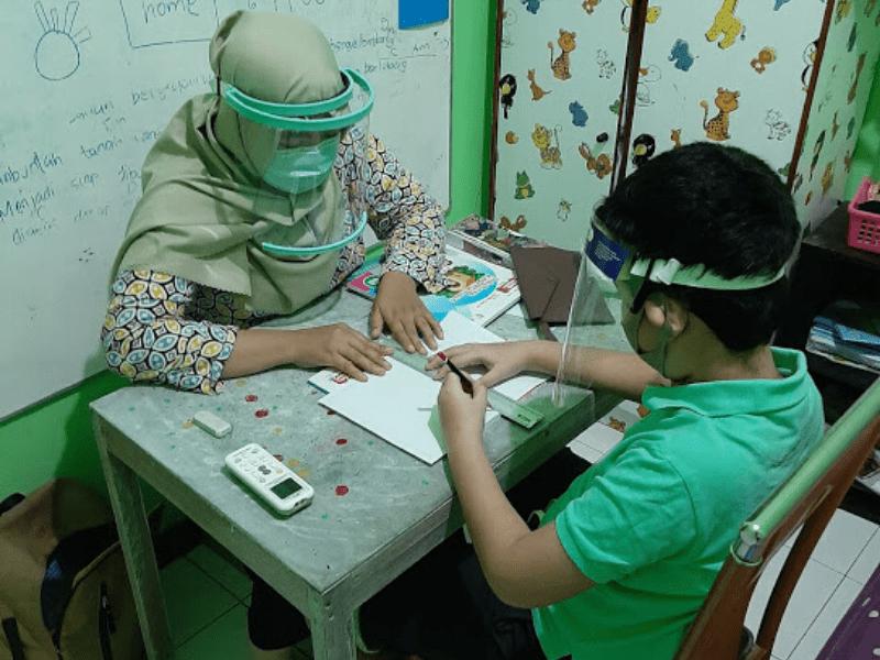 Hari Pertama Masuk Sekolah pada Masa Pandemi Covid-19