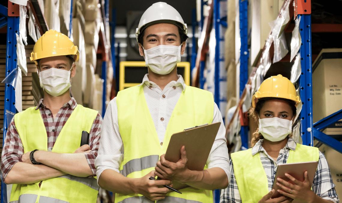 Kebersihan Lingkungan Kerja di Perusahaan Logistik