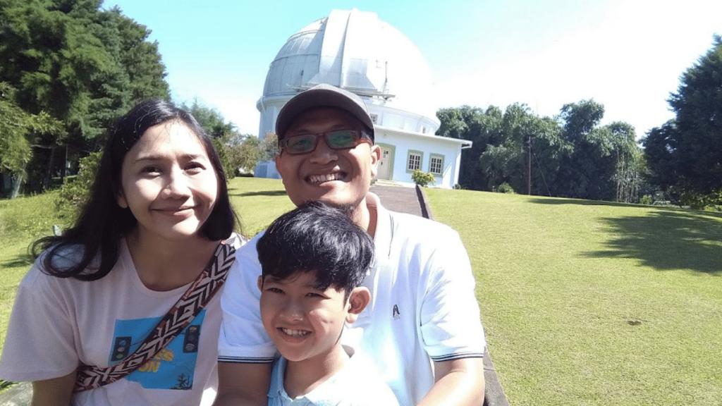 Mengunjungi Boscha di road trip Bandung Dari Surabaya