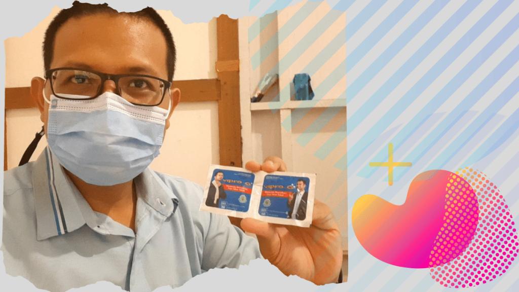 Tablet Vipro-G Effervescent Sangat Praktis