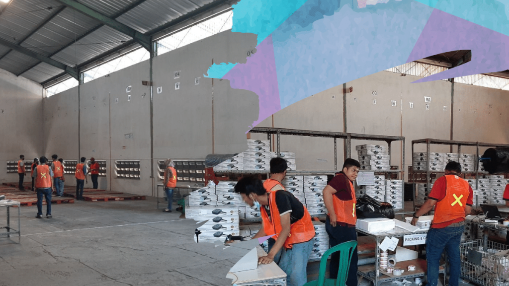 persiapan fulfillment center