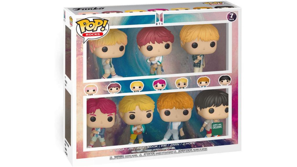 Funko Pop BTS K-Pop Action Figure