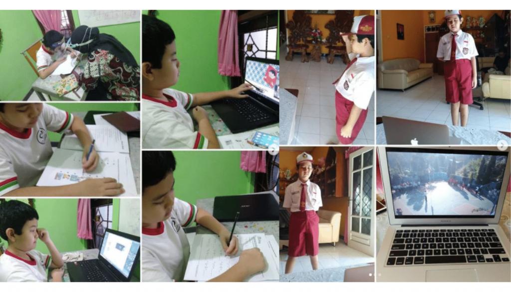 Aktivitas Pembelajaran Jarak Jauh