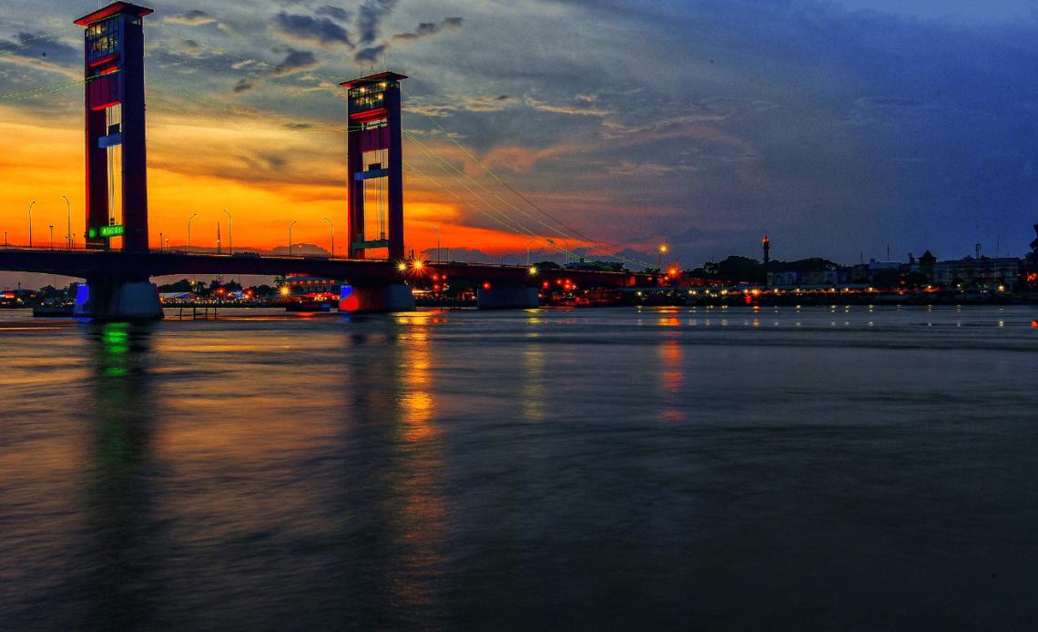 Berpetualang Ke Masa Lampau Kota Palembang