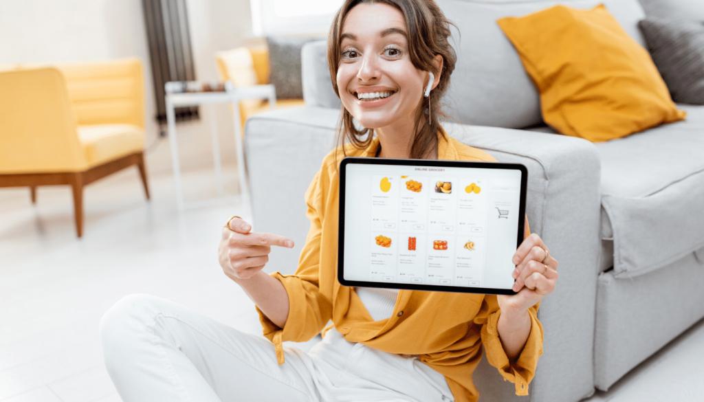 Berbelanja Online di Rumah