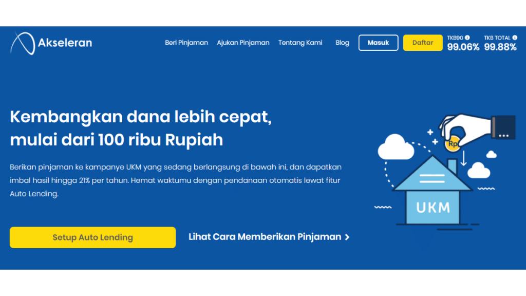 Pendanaan Akseleran Ikut Majukan UMKM di Indonesia