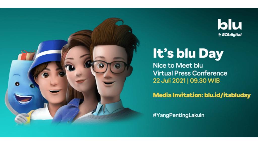 Launching blu By BCA Digital